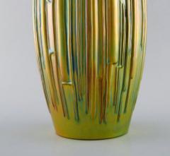 T r k J nos Large modernist vase in glazed ceramics - 1421519