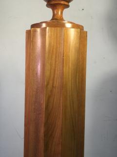 TH Robsjohn Gibbings Extraordinary and Rare Pair of TH Robsjohn Gibbings Torchiere Lamps - 645460