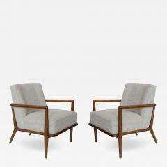 TH Robsjohn Gibbings Pair Of T H Robsjohn Gibbings Chairs - 1065934