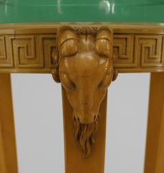 TH Robsjohn Gibbings Pair of American Art Moderne Sycamore Pedestals - 471118