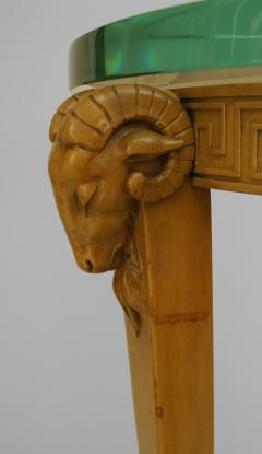 TH Robsjohn Gibbings Pair of American Art Moderne Sycamore Pedestals - 471121