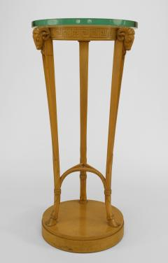 TH Robsjohn Gibbings Pair of American Art Moderne Sycamore Pedestals - 471122