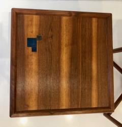 TH Robsjohn Gibbings Pair of Dunbar Janus End Tables with Tiffany Tiles - 908061