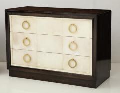 TH Robsjohn Gibbings Pair of Exquisite Parchment Dressers by T H Robsjohn Gibbings  - 820908