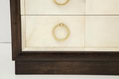 TH Robsjohn Gibbings Pair of Exquisite Parchment Dressers by T H Robsjohn Gibbings  - 820909