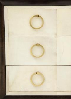 TH Robsjohn Gibbings Pair of Exquisite Parchment Dressers by T H Robsjohn Gibbings  - 820910