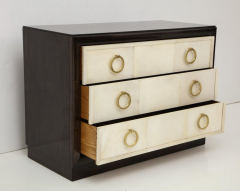 TH Robsjohn Gibbings Pair of Exquisite Parchment Dressers by T H Robsjohn Gibbings  - 820912