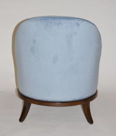 TH Robsjohn Gibbings Pair of Rare Slipper or Lounge Chairs by T H Robsjohn Gibbings for Widdicomb - 673136