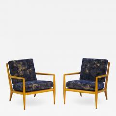 TH Robsjohn Gibbings Pair of Vintage Robsjohn Gibbings for Widdicomb Lounge Chairs - 663279