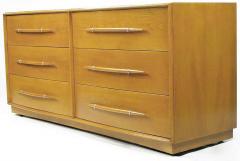 TH Robsjohn Gibbings Rare T H Robsjohn Gibbings Bleached Walnut Dresser for Widdicomb - 266887