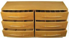 TH Robsjohn Gibbings Rare T H Robsjohn Gibbings Bleached Walnut Dresser for Widdicomb - 266893