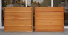 TH Robsjohn Gibbings Robsjohn Gibbings Pair of Cabinets Bedside Tables - 605817