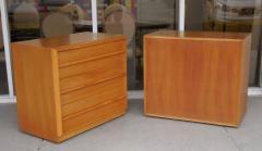 TH Robsjohn Gibbings Robsjohn Gibbings Pair of Cabinets Bedside Tables - 605820