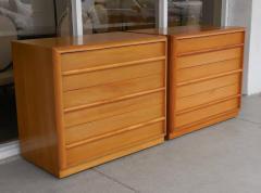 TH Robsjohn Gibbings Robsjohn Gibbings Pair of Cabinets Bedside Tables - 605821