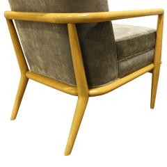TH Robsjohn Gibbings T H Robsjohn Gibbings Elegant Lounge Chair 1950s - 1012934