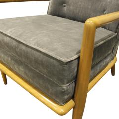 TH Robsjohn Gibbings T H Robsjohn Gibbings Elegant Lounge Chair 1950s - 1012941