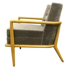 TH Robsjohn Gibbings T H Robsjohn Gibbings Elegant Lounge Chair 1950s - 1012943
