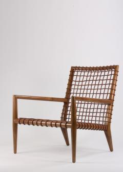 TH Robsjohn Gibbings T H Robsjohn Gibbings for Saridis of Athens Contemporary Lounge Chair No 155 - 617618