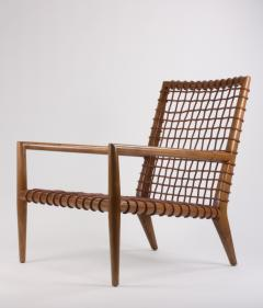 TH Robsjohn Gibbings T H Robsjohn Gibbings for Saridis of Athens Contemporary Lounge Chair No 155 - 617626