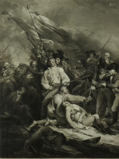 THE BATTLE AT BUNKERS HILL - 1414915