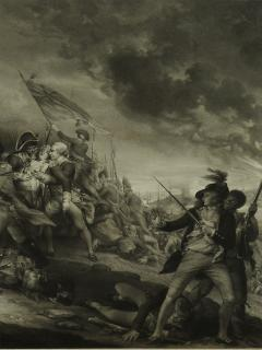 THE BATTLE AT BUNKERS HILL - 1414916