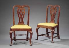 THE TILLINGHAST FAMILY PAIR OF QUEEN ANNE SIDE CHAIRS - 1422475
