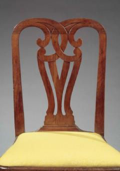 THE TILLINGHAST FAMILY PAIR OF QUEEN ANNE SIDE CHAIRS - 1422476