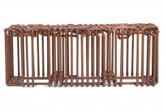 TJ Volonis Bale Bench in Copper by TJ Volonis - 192472
