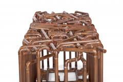 TJ Volonis Bale Bench in Copper by TJ Volonis - 192492