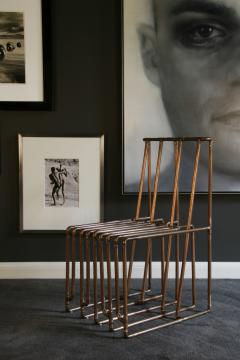 TJ Volonis Chair in Copper by TJ Volonis - 157993