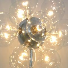 TSAO Designs Mid Century Modern TSAO Designs Chromed Steel Ten Globe Sputnik Floor Lamp - 1053767