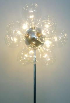 TSAO Designs Mid Century Modern TSAO Designs Chromed Steel Ten Globe Sputnik Floor Lamp - 1053768