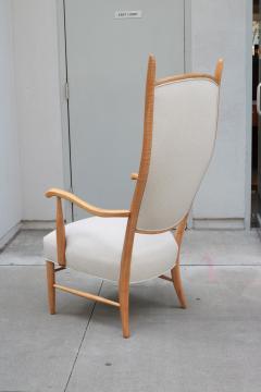 Tall Back Mid Century Armchair - 1554024