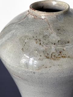 Tall Korean Ceramic Storage Jar Joseon Dynasty - 2077110