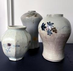 Tall Korean Ceramic Storage Jar Joseon Dynasty - 2077112