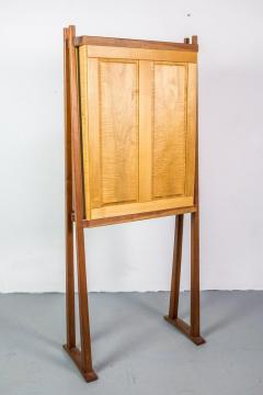 Tall Studio Cabinet in Wood by an American Craftsman - 1173917