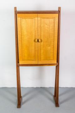 Tall Studio Cabinet in Wood by an American Craftsman - 1173919