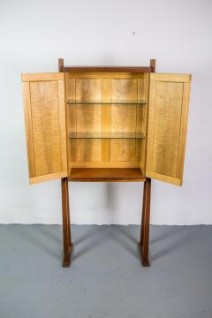 Tall Studio Cabinet in Wood by an American Craftsman - 1173920