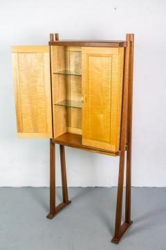 Tall Studio Cabinet in Wood by an American Craftsman - 1173922