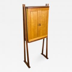 Tall Studio Cabinet in Wood by an American Craftsman - 1175219