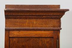 Tall oak cartonnier cabinet - 1388106