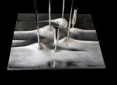 Tapio Wirkkala Tapio Wirkkala Sol Lunaire Candleholder Sculpture for Christofle France - 1057236