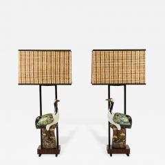 Ted Graber Pair of Armature Lamps by Ted Graber - 429293