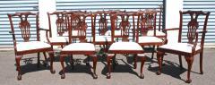 Ten American Centennial Mahogany Dining Chairs - 1463884