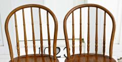 Ten Connecticut Hoop Back Windsor Chairs - 1463969