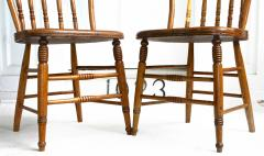 Ten Connecticut Hoop Back Windsor Chairs - 1463970