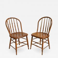 Ten Connecticut Hoop Back Windsor Chairs - 1464962