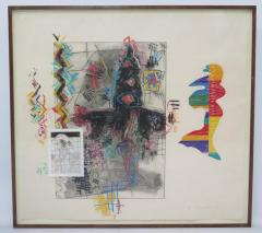 Terence La Noue Terence La Noue Mixed Media on Paper from The Ritual Series  - 1912672