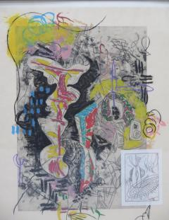 Terence La Noue Terence La Noue Mixed Media on Paper from The Ritual Series  - 1912677