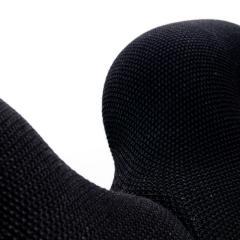 Terje Ekstrom Pair of Iconic Black Armchairs by Terje Ekstrom Norway 1980s - 1181795